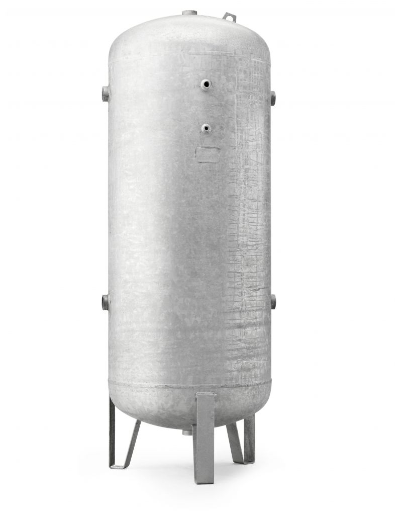 Réservoir vertical galvanisé 500 BP